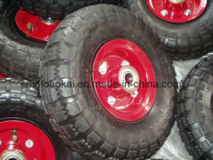Pneumatic Rubber Wheel 3.50-4