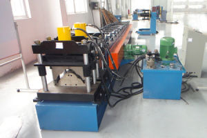 Color Steel Ridge Cap Roll Forming Machine (Xf410)