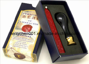 20mm Porcelain Handle Wax Sealing Stamp Candle Kit pictures & photos