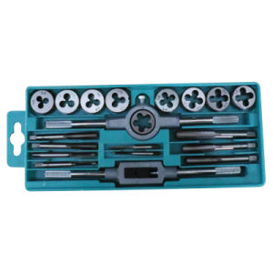 20PCS Metric Tap and Die Set, Alloy Steel