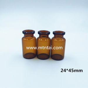 10ml Borosilicate Glass Bottles in Amber Color pictures & photos