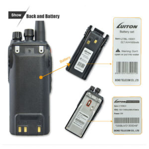 Dual Band Lt-558UV Professional Two-Way Radio pictures & photos