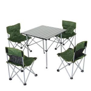Fine Lightweight Portable Aluminum Folding Chairs And Table Set Machost Co Dining Chair Design Ideas Machostcouk