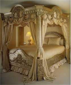 China Antique Louis Xv Carving Bed Ws10001 Beds Bedroom Furniture