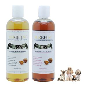 Professional All-in-One Natural Dog Shampoo for Itchy Dry Sensitive Skin
