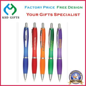Plastic Desk Table Pen for Promotion Gift pictures & photos