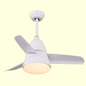 Small Children Bedroom Ceiling Fans with Light and Remote Control