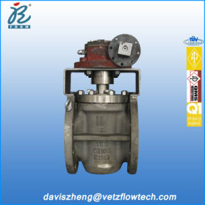 8-150 API Sleeve Plug Valve Cast Iron RF 2-Ways Gear