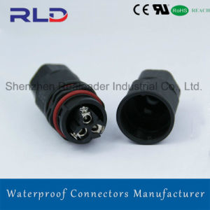 Quick Lock Waterproof Wire Connector in LED Signal Line Transmission