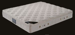 Queen Size Latex Mattress 5-Zone Pocket Coil Spring Mattress pictures & photos
