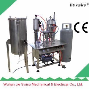 Spray Paint Aerosol Tin Can Filling Machine with CE Certification