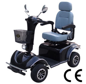 Electric 4-Wheel Mobility Scooter Handicapped Scooter pictures & photos