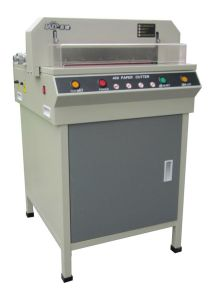 Professional Manufacturer 450mm Small Paper Cutting Machine (WD-450V+) pictures & photos