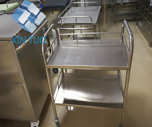 Stainless Steel Frame Laundry Medical Dirt Carts pictures & photos