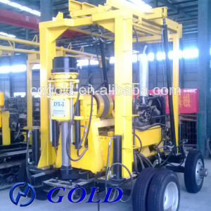 Water Well Drilling Rig, Machine for Soil Investigation with Drill Gear Box pictures & photos