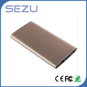 Super Slim Portable Metal Power Bank External Battery pictures & photos