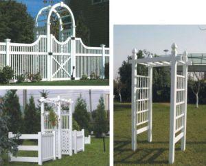 China Artistic Decorative PVC Fence/Arbor/Pergola - China PVC Fence ...