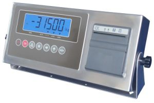 CE Approval Stainless Steel Weighing Indicator with Printer (XK315A1GB-5-LP)