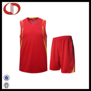 Custom New Pattern Printing Basketball Uniform for Girls pictures & photos