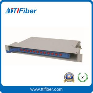 12port Welding Fiber Optic Distribution Box for ODF Unit Box pictures & photos