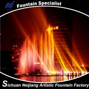 Super Comercial Center Colorful Multimedia Musical Fountain