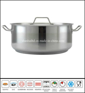 Stainless Steel Low Casserole Cookware pictures & photos