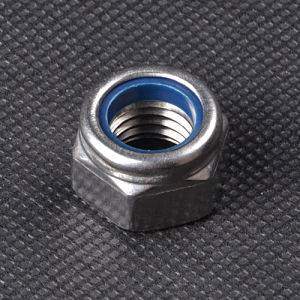 DIN985 Carbon Steel Nylon Lock Nut for Home Decoration