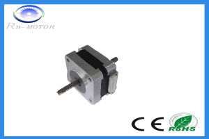 Chinese Low Noise NEMA14 35X35mm Hybrid Stepper Motor for Stage Lighting pictures & photos