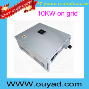 Factory Price on Grid Inverter 10kw Grid Tie Inverter pictures & photos