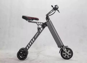 Hot-Selling Three Wheels Mini Folding 8 Inch Electric Bike