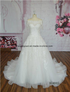 New Collection off Shoulder Hot Sale Wedding Dresses Bridal Gown pictures & photos