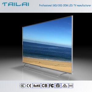 Indoor 75inch UHD 4K Flat Screen Home Slim LED TV with HDMI USB VGA