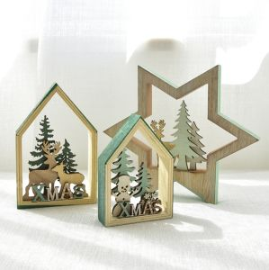 Wood Christmas Decorations.China Wooden Christmas Decoration Wooden Christmas