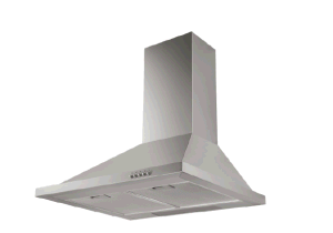 60cm 70cm 90cm Wall Mounted Tower Shape European Style Chimney Cooker Hood Extractor