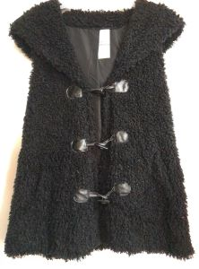 Women′s Fake Fur Hooded Clothes, Fashion, Clothing