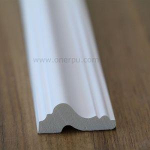 Polyurethane Chair Rail Wall Moulding PU Cornice Hn 8652