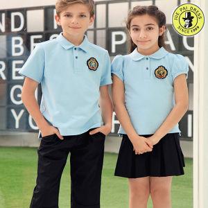 46b88771 China Polo T-Shirt Primary School Uniform for Summer - China School ...