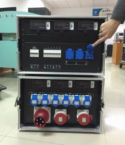 3 Phase 32A Power Input Distribution Box
