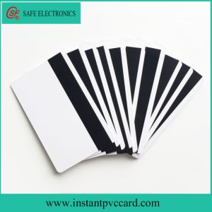 Both Sides Printable Instant Magnetic Stripe PVC Card pictures & photos