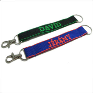 Printed Custom Short Neck Keychain Lanyards for Keys pictures & photos