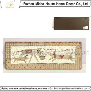 Dog Home Decorative Metal Craft Signs
