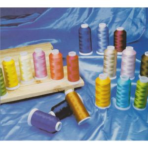 Shanfa 100% Rayon Viscose Embroidery Thread pictures & photos