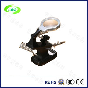 5times and 10 Times Laboratory Magnifying Glass with LED Lamp pictures & photos