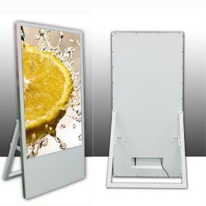 43inch Ultra Slim All in One Floor Stand LCD Digital Signage/Advertising Display Support WiFi/HDMI pictures & photos