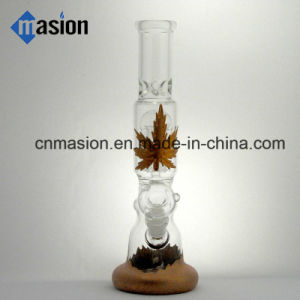 Handblown Tobacco Pipe Glass Smoking Water Pipe (BY005) pictures & photos