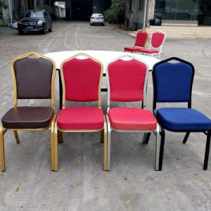 Classic Stacking Cheap Metal Aluminium Dining Banquet Chair pictures & photos