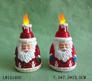 Xmas Candle Holder Craft Ornament