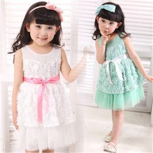 dac2e8b66415 China Newborn Cotton Design Princess Baby Girl Lace Dress - China ...