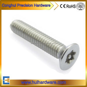 Stainless Steel Countersunk/Csk/Flat Head Torx Machine Screw with Pin pictures & photos