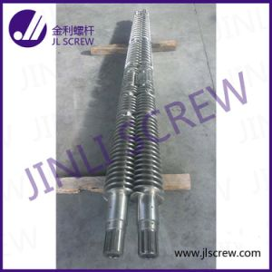 Conical Twin Screw Barrel for PVC (JLA-65/132)